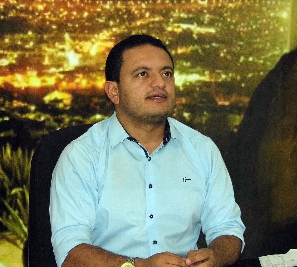 Presidente da Camara Leo do Ar PSDB Foto Gilvan Silva