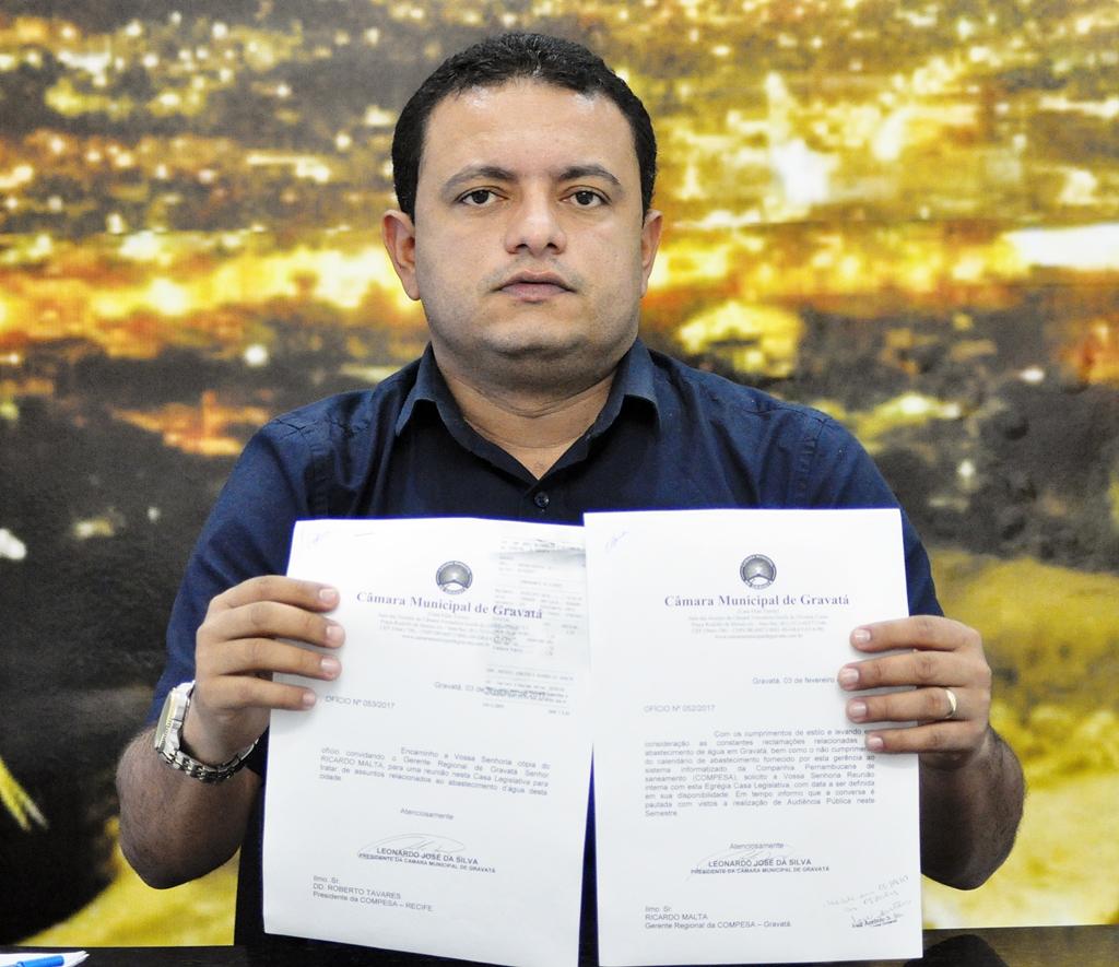 Presidente da Camara Leo do Ar PSDB Foto Rafinha Souza Ascom