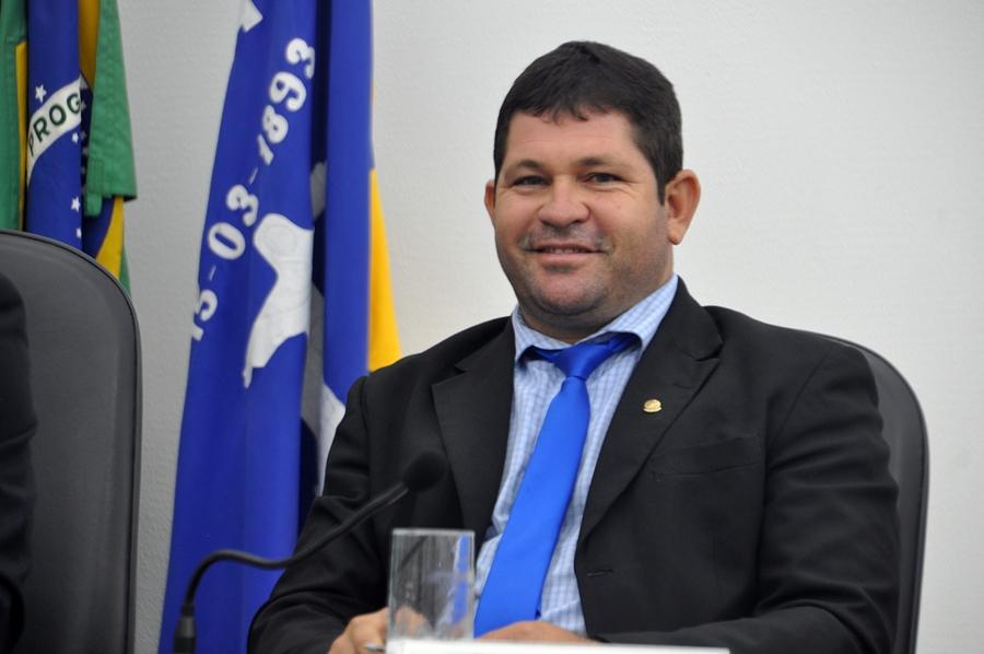 Vice presidente da Câmara Bolo da Areia PSDB Foto Gilvan Silva