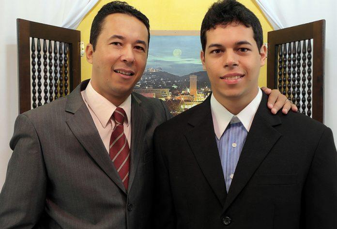 Joel Andrade e seu Filho Raynier Andrade