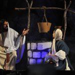 Primeira noite de encenação da Paixão de Cristo Fotos Gilvan Silva