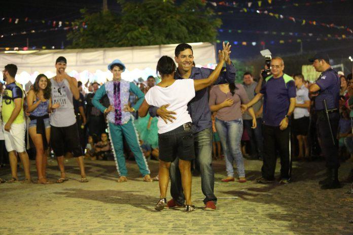 Maratona do Forro Casal Finalista Foto Allan Torres