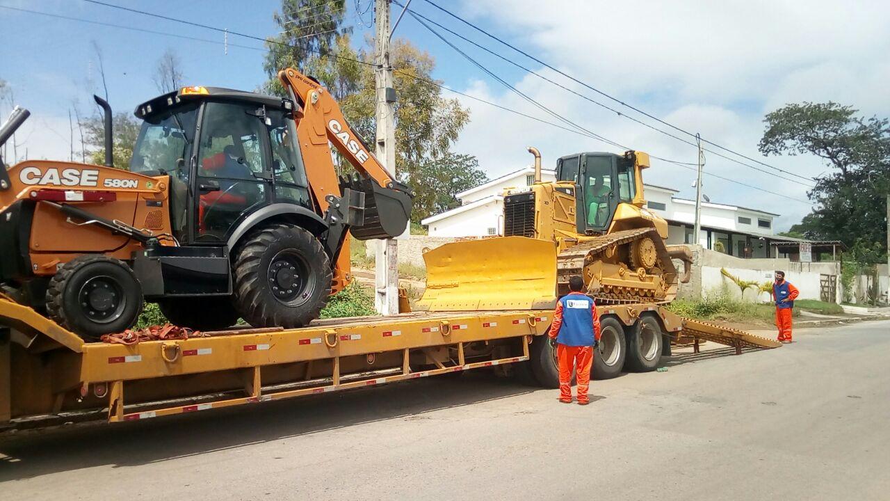 Novo Maquinário para a Limpeza Urbana da Cidade de Gravatá