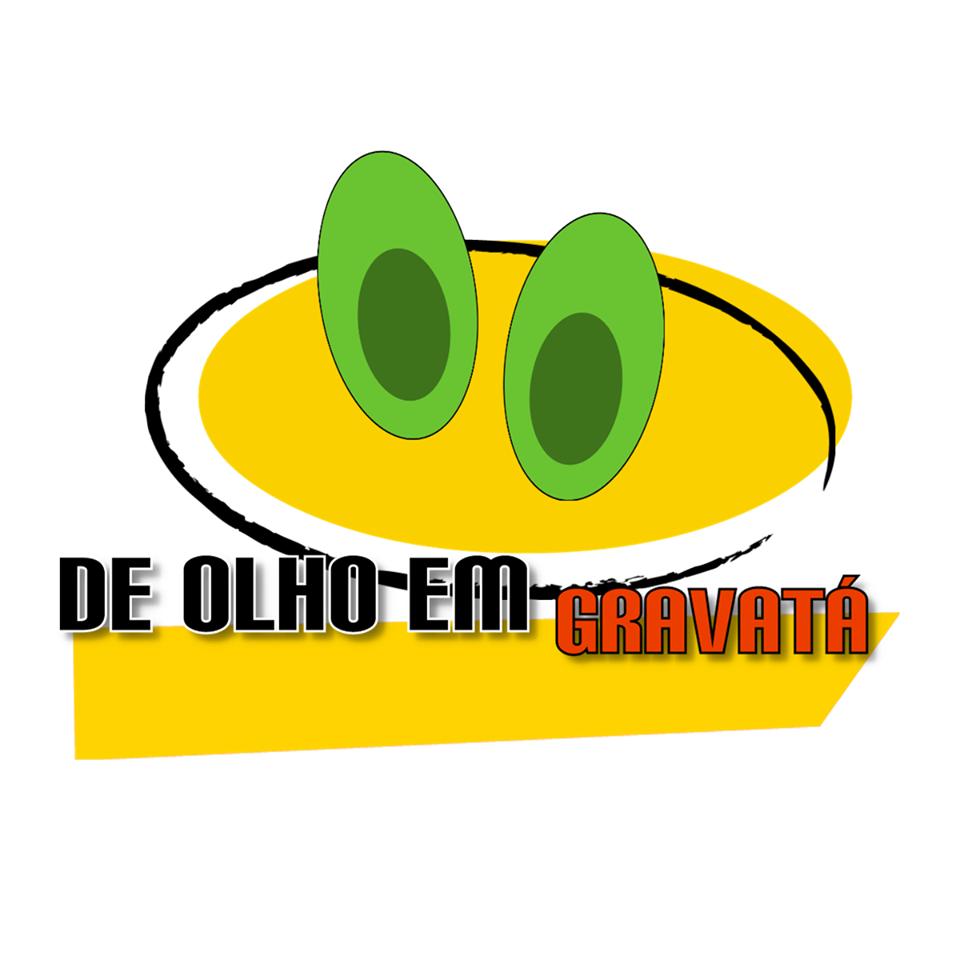 Primeira logo oficial do De Olho Em Gravatá