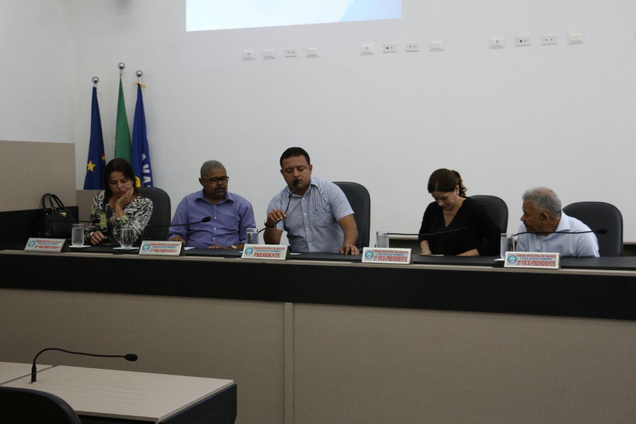 A ocasião, contou com a presença de Servidores Públicos, Secretários Municipais, representantes do Legislativo e também da municipalidade em geral
