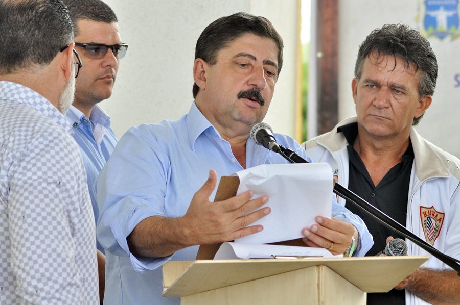 Prefeito Joaquim Neto. Foto: Gilvan Silva