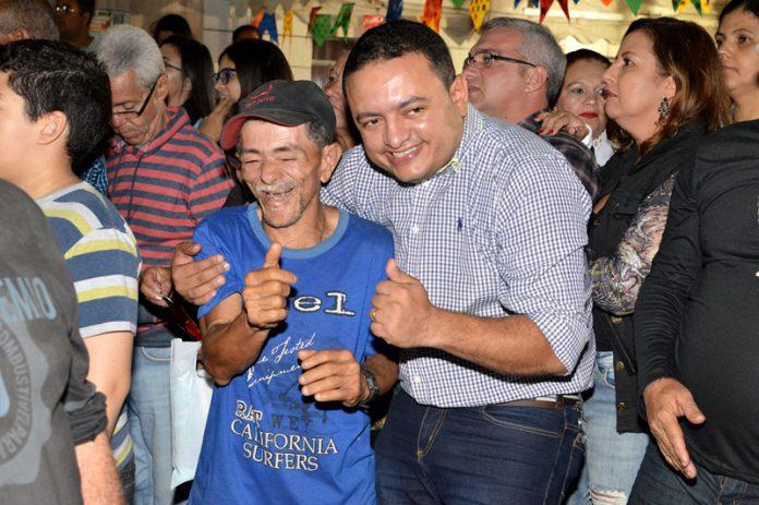 Evento na Amaury de Medeiros. Foto - Gilvan Silva