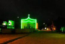Igreja de São Severino Recebe Iluminação. Foto: Cortesia