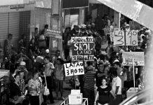 Proibida a venda de Bebidas em garrafas de vidro nos polos de Carnaval. Foto: Gilvan Silva