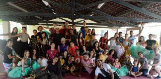 Arapiraca com integrantes da Quadrilha Sivuca. Foto: Gilvan Silva