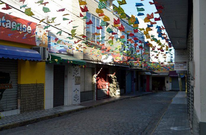 Centro da cidade de Gravatá. Foto: Gilvan Silva