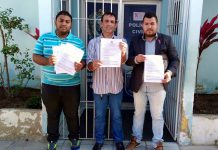 Gilvan Silva, Raul Valois e Tarcio Romário, Foto\Cortesia