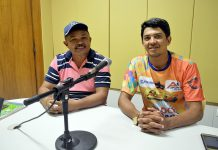 Rosildo Freitas e Cleidson Arapiraca. Fotos: Gilvan Silva (ASCOM)